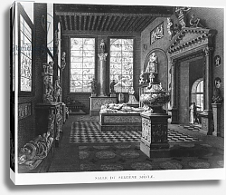 Постер Ваузель Джон The 16th century room, Musee des Monuments Francais, Paris, 1816