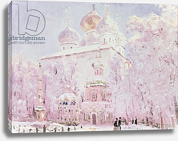 Постер Дубовской Николай Winter in the Trinity-St. Sergius Lavra in Sergiyev Posad, c.1910
