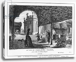Постер Леспинасс Луи Fourth view of Trianon, taken in the French garden, engraved by Francois Denis Nee