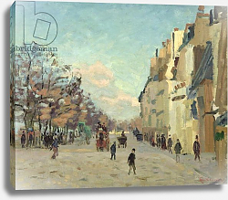 Постер Гуилаумин Арманд Paris, Quai de Bercy, Snow Effect, c.1873-74