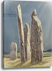 Постер Давид Жюль (совр) Tall Stones of Callanish, Isle of Lewis, 1986-7
