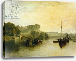 Постер Тернер Уильям (William Turner) Petworth, Sussex, the Seat of the Earl of Egremont: Dewy Morning, 1810
