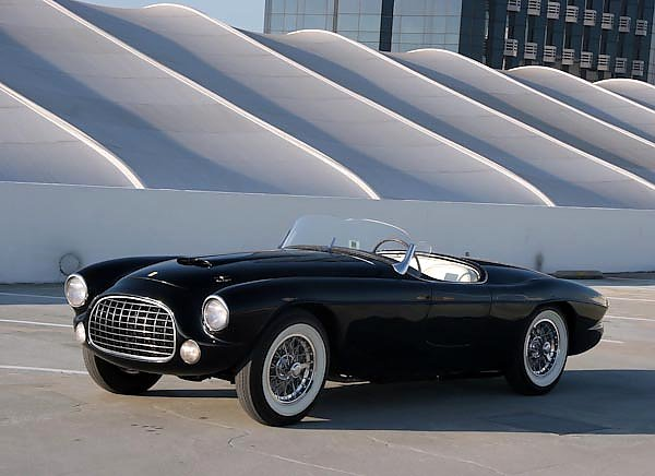 Ferrari 212 225 Inter Barchetta '1952 дизайн Touring