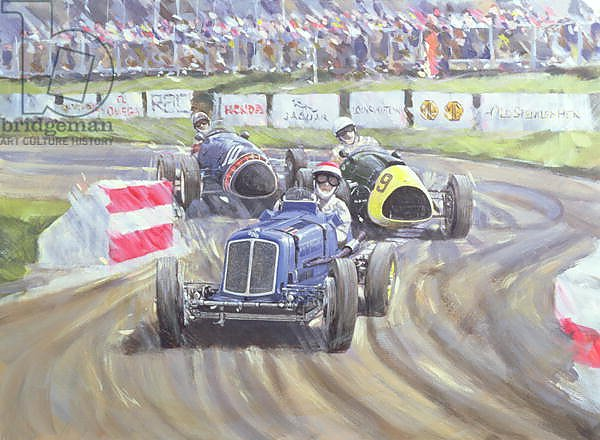 The First Race at the Goodwood Revival, 1998