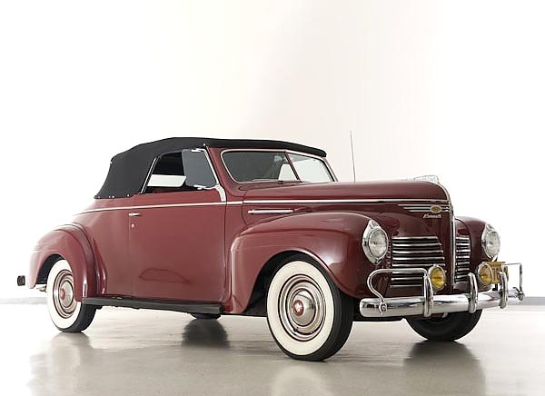 Plymouth Deluxe Convertible Coupe (P10) '1940