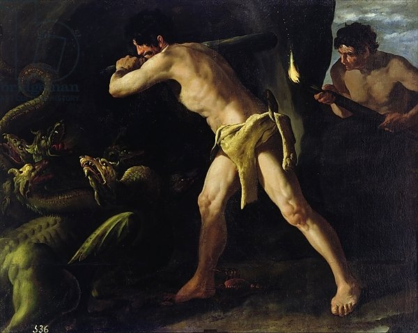 Hercules Fighting with the Lernaean Hydra, c.1634