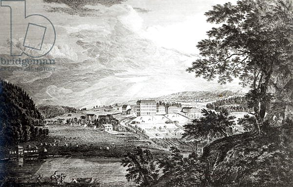 A View of Bethlem the Great Moravian Settlement in Pennsylvania, 1768