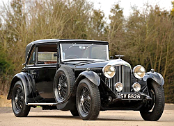 Постер Bentley 4 Litre Coupe by Mulliner '1931