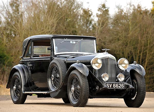 Bentley 4 Litre Coupe by Mulliner '1931