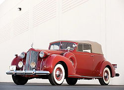 Постер Packard Twelve Victoria Convertible '1938