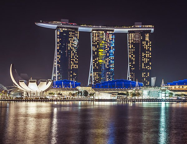 Сингапур. Отель Marina Bay Sands 3