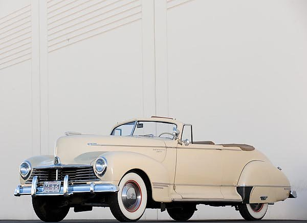 Hudson Super Six Convertible Coupe '1946
