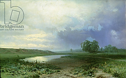 Постер Васильев Федор Wet Meadow, 1872