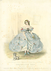 Постер Crinoline 1859. Poor Tiney, Good Bye Tiney Dear, I Shant Have Room For You in the Carriage