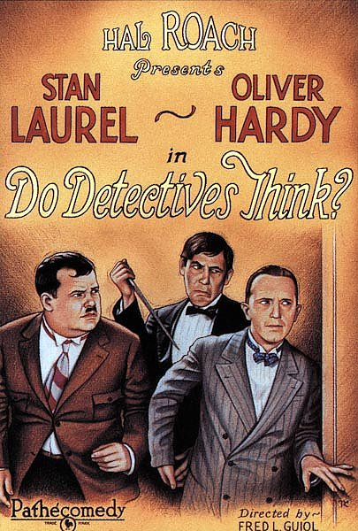 Poster - Do Detectives Think