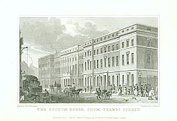 Постер The Custom House, from Thames Street