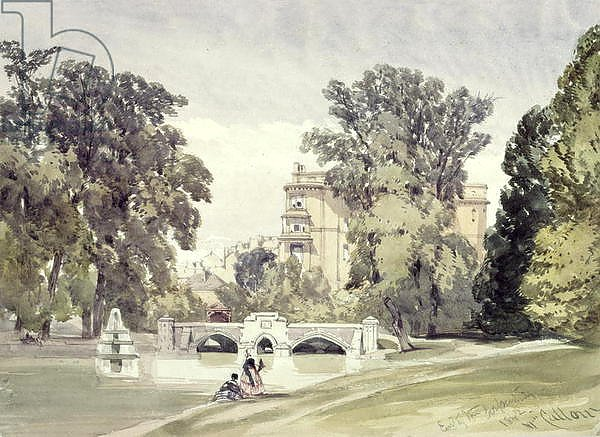 West End of the Serpentine, Kensington Gardens