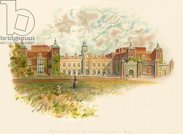 Hatfield house, Hertfordshire - south front