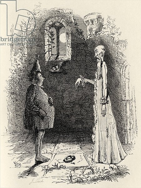 The Ghost, from 'The Ingoldsby Legends' by Thomas Ingoldsby