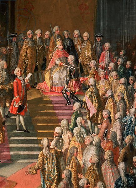 The Investiture of Joseph II Emperor of Germany in Frankfurt Cathedral, 1764