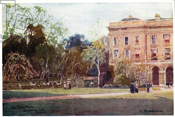 The Deer Park, Magdalen College, New Buildings