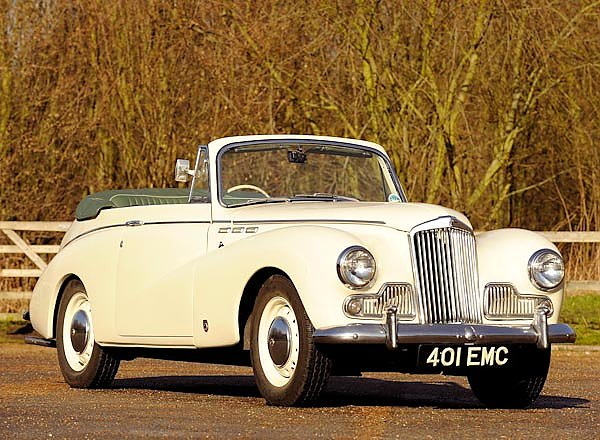 Sunbeam MkIII Convertible Coupe '1954–55