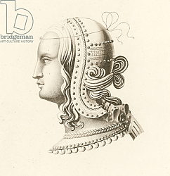 Постер Шоу Анри (акв) Head Dress IV, early 16th century