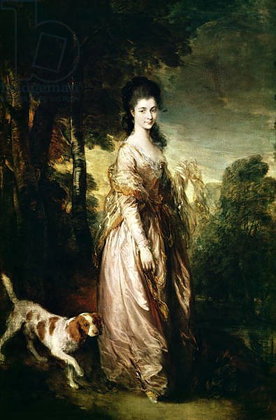 Portrait of Mrs. Lowndes-Stone c.1775