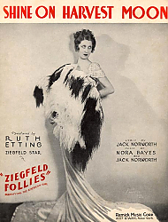 Постер Ziegfeld Sheet Music - Ziegfeld Follies Of 1931 (Shine On Harvest Moon)