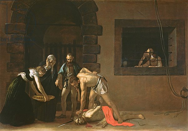 The Decapitation of St. John the Baptist, 1608