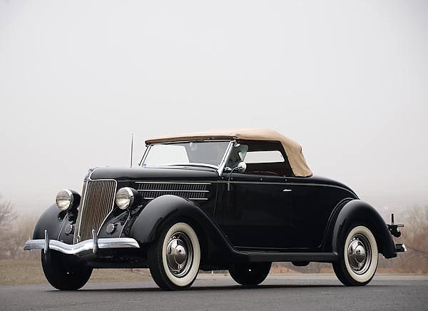 Ford V8 Deluxe Roadster (68) '1936