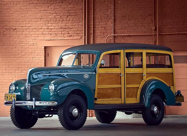 Ford Standard Station Wagon by Marmon-Herrington '1940