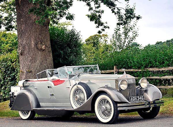Rolls-Royce Phantom Dual Cowl Sports Phaeton by Whittingham & Mitchel (II) '1930