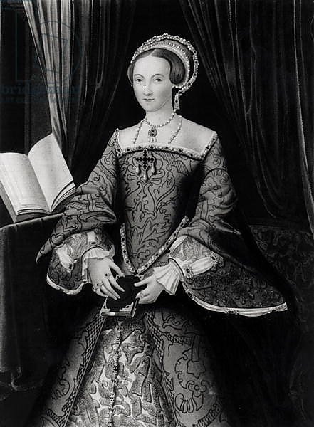 Portrait of Elizabeth I when Princess c.1546
