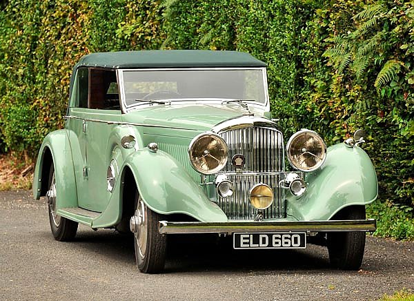 Bentley 4 1 4 Litre Tourer by Thrupp & Maberly '1937