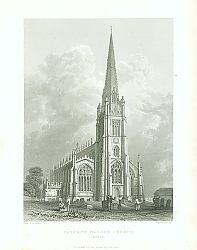 Постер Saffron Walden Church, Essex