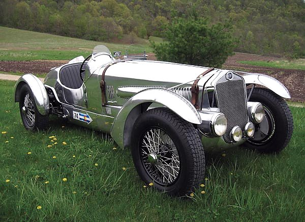 Delage D6-3L Grand Prix Race Car '1937