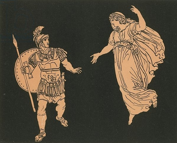 Aeneas and the Shade of Creusa