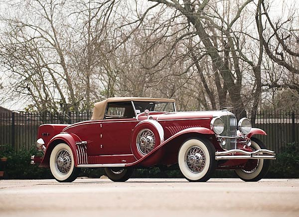 Duesenberg J 340 Convertible Coupe by Murphy '1932