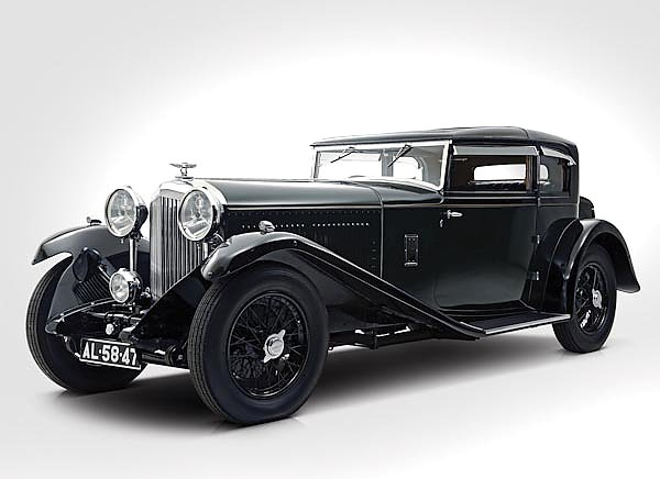 Bentley 8 Litre Short Chassis Mayfair Fixed Head Coupe '1932