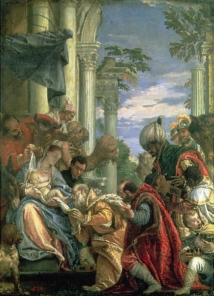 Adoration of the Magi, 1570s