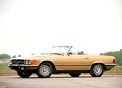 Постер Mercedes-Benz 450SL US-spec (R107) '1972–80