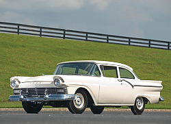 Постер Ford Custom Tudor Sedan 312 ''Thunderbird Special'' '1957