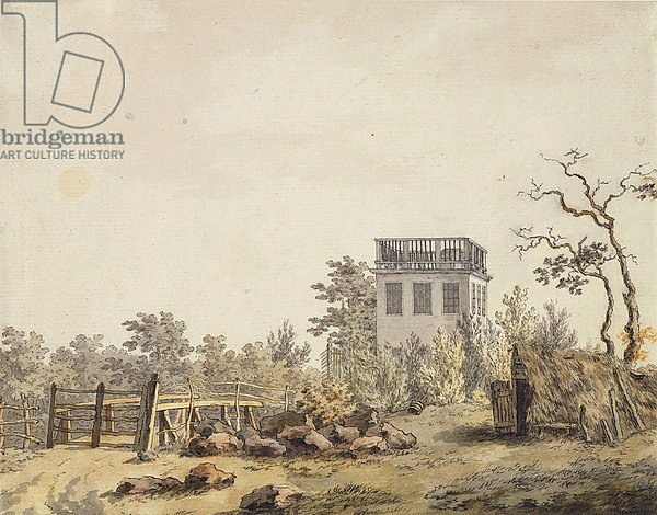 Landscape with a Pavilion, c. 1797