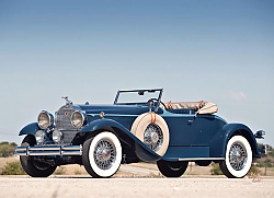 Постер Packard Deluxe Eight Roadster '1930–31