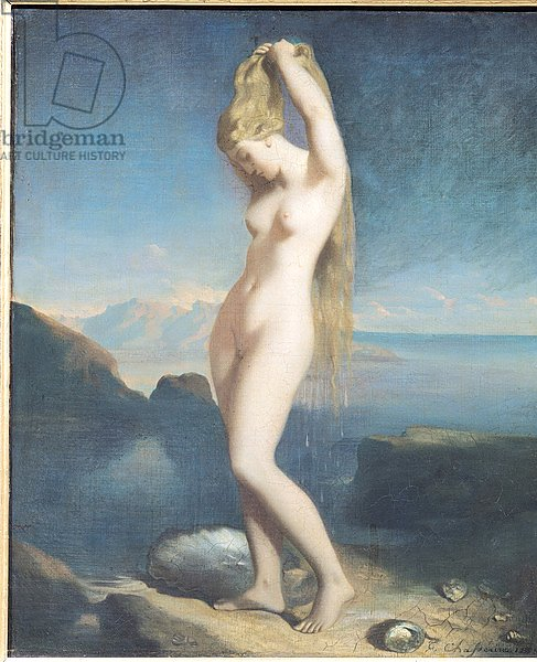 Venus Anadyomene, or Venus of the Sea, 1838