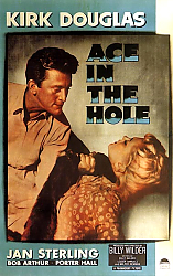 Постер Film Noir Poster - Ace In The Hole