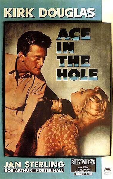 Film Noir Poster - Ace In The Hole