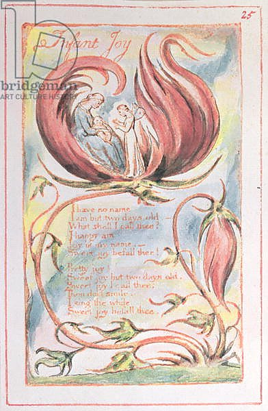 Songs of Innocence; Infant Joy, 1789