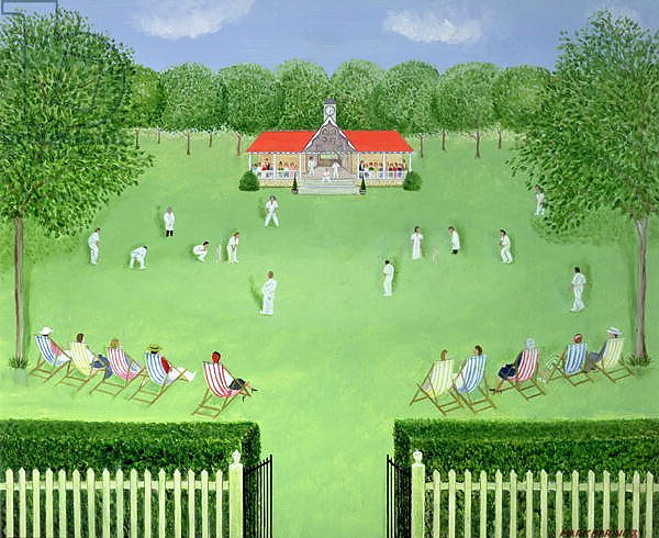 The Cricket Match, 1981